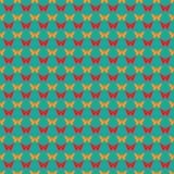 картина бабочек безшовная Плоский стиль Стоковые Изображения RF