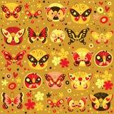 Картина бабочек Стоковые Фотографии RF