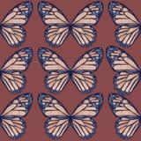 Картина бабочек Стоковое Изображение RF