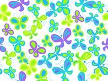 картина бабочки безшовная Стоковое Изображение RF