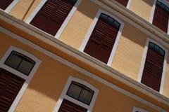 картина балконов Стоковая Фотография