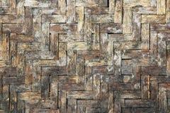 Картина бамбука текстуры basketwork Grunge Стоковые Фотографии RF