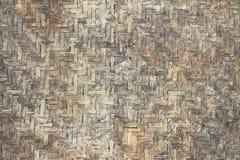 Картина бамбука текстуры basketwork Grunge Стоковое фото RF