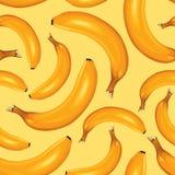 Картина бананов безшовная Стоковое фото RF
