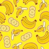 картина бананов Стоковая Фотография RF