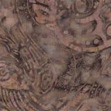 Картина батика Брайна Стоковое Изображение