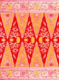 Картина батика Javanese иллюстрация вектора