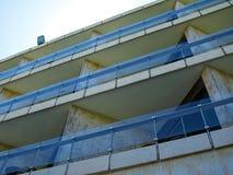 Картина балконов гостиничного номера Стоковое Изображение RF