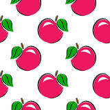 картина безшовная белизна серии фото предпосылки яблок Стоковое фото RF