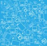 Картина безшовная бытовых приборов background card congratulation invitation бесплатная иллюстрация