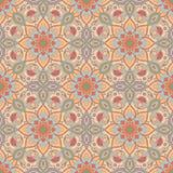 картина безшовная Декоративная картина в красивых цветах также вектор иллюстрации притяжки corel иллюстрация вектора