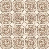 картина безшовная декоративный сбор винограда элементов Стоковое Изображение
