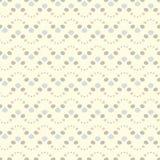 картина безшовная Повторять геометрические поставленные точки волны Стоковое Фото
