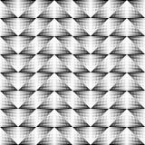 картина безшовная Повторять геометрическую текстуру Стоковая Фотография RF