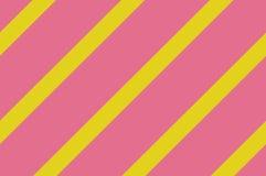 картина безшовная Розовые нашивки на желтой предпосылке Striped раскосная картина для печатать на ткани, бумаге, оборачивая Стоковые Фото