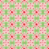 картина безшовная самомоднейшая текстура Повторять абстрактную предпосылку с кругами Стоковое Фото
