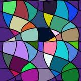 картина безшовная Сетка повторяя текстуру, предпосылку мозаики Стоковые Изображения RF