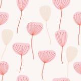 картина безшовная Цветы Стоковое Изображение RF