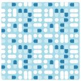 Картина безшовного вектора обработки пилюльки медицины плоская бесплатная иллюстрация