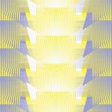 Картина безшовного конспекта ретро геометрическая Смешанные прямоугольники и линии в вертикальном и горизонтальном плане иллюстрация вектора