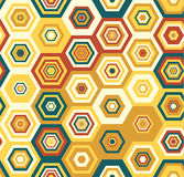 Картина безшовного красочного вектора геометрическая Стоковое Изображение RF