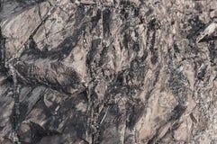 Картина безшовного крупного плана предпосылки текстуры и поверхности утеса Стоковые Фотографии RF