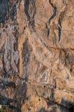 Картина безшовного крупного плана предпосылки текстуры и поверхности утеса Стоковое Фото