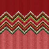 Картина безшовного рождества геометрическая связанная Стоковое Фото