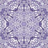 Картина безшовного doodle акварели декоративная бесплатная иллюстрация