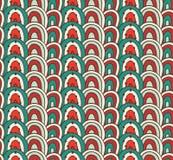 Картина безшовного doodle волнистая Стоковые Фото