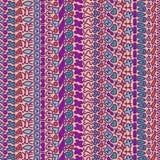 Картина безшовного doodle геометрическая Стоковые Фотографии RF