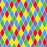 картина безшовное VI harlequin particoloured Стоковые Фотографии RF