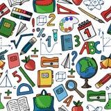 Картина белизны школы Стоковая Фотография RF