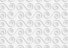 Картина белой бумаги геометрическая, абстрактный шаблон предпосылки для вебсайта, знамени, визитной карточки, приглашения Стоковое фото RF