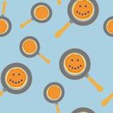 Картина блинчика состоя из домой тортов кучи домодельных горячих на сковороде, крепирует сладостную еду бесплатная иллюстрация