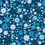 Картина богато украшенного цветка красоты безшовная Абстрактная флористическая первоначально предпосылка Стоковое Изображение