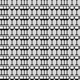 Картина бокалов безшовная Стоковое фото RF