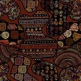 Картина Брайна племенная иллюстрация штока