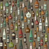 Картина бутылок Стоковая Фотография