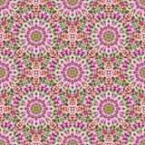 Картина вектора абстрактного безшовного цвета геометрическая Стоковое Изображение