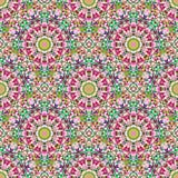 Картина вектора абстрактного безшовного цвета геометрическая Стоковое Фото