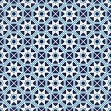 Картина вектора азиатская геометрическая Стоковая Фотография