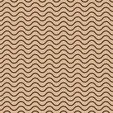 Картина вектора безшовная абстрактная, волны Стоковое фото RF