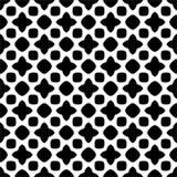 Картина вектора безшовная абстрактная черно-белая абстрактные обои предпосылки стоковая фотография rf