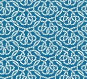 Картина вектора безшовная веревочек Стоковые Изображения