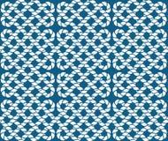 Картина вектора безшовная веревочек Иллюстрация штока