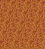 Картина вектора безшовная ветвей Стоковая Фотография