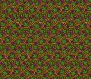 Картина вектора безшовная виноградин Стоковые Фотографии RF