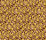 Картина вектора безшовная виноградин Стоковая Фотография RF