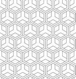 Картина вектора безшовная геометрическая Классический китайский старый польностью editable орнамент иллюстрация штока